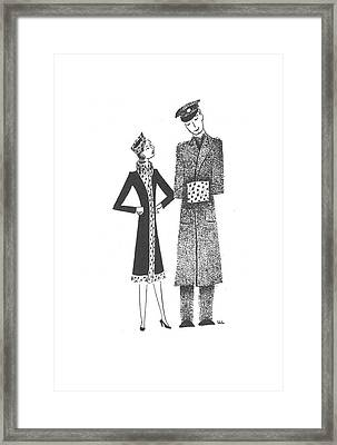 New Yorker March 21st, 1942 Framed Print