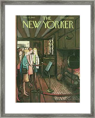 New Yorker March 23rd, 1963 Framed Print