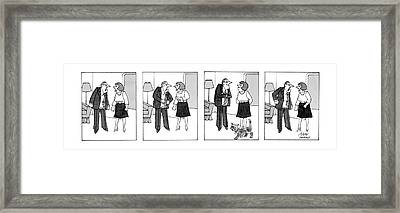 New Yorker March 23rd, 1987 Framed Print by Joseph Farris