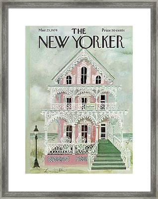 New Yorker March 25th, 1974 Framed Print
