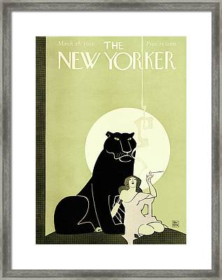 New Yorker March 28th, 1925 Framed Print by Ray Rohn