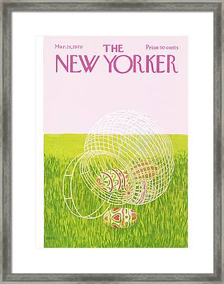 New Yorker March 28th, 1970 Framed Print