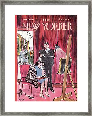 New Yorker March 29th, 1969 Framed Print