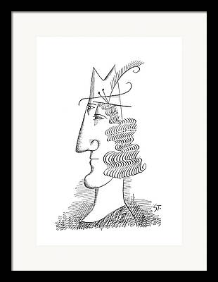 Meshed Drawings Framed Prints