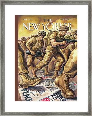New Yorker March 31st, 2003 Framed Print