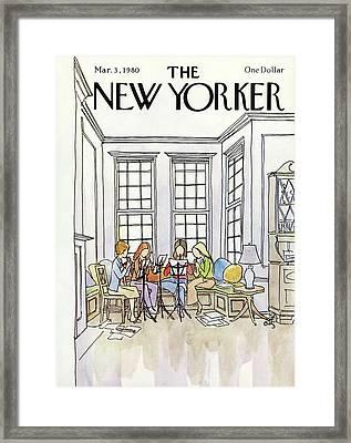 New Yorker March 3rd, 1980 Framed Print by Arthur Getz