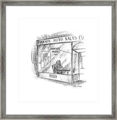 New Yorker March 7th, 1942 Framed Print