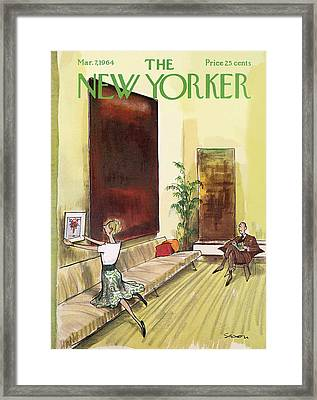 New Yorker March 7th, 1964 Framed Print
