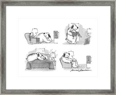 New Yorker March 7th, 1988 Framed Print by Bernard Schoenbaum