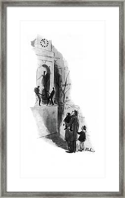 New Yorker March 8th, 1941 Framed Print