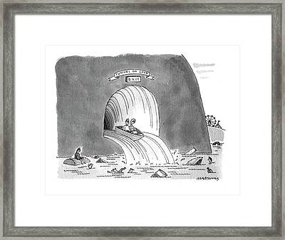 New Yorker March 8th, 1993 Framed Print