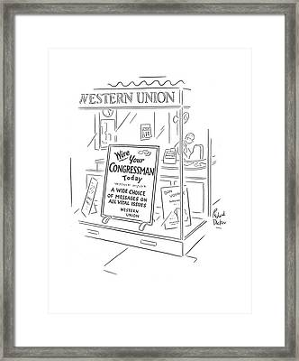 New Yorker March 9th, 1940 Framed Print