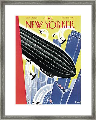 New Yorker May 10th, 1930 Framed Print by Theodore G. Haupt