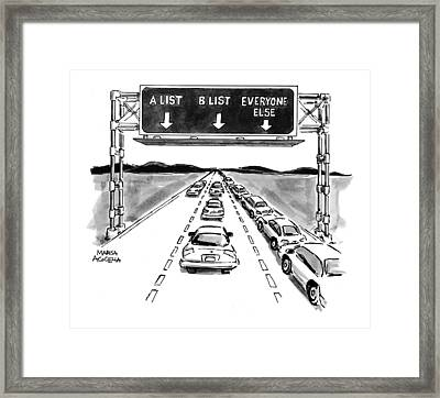 New Yorker May 10th, 1999 Framed Print
