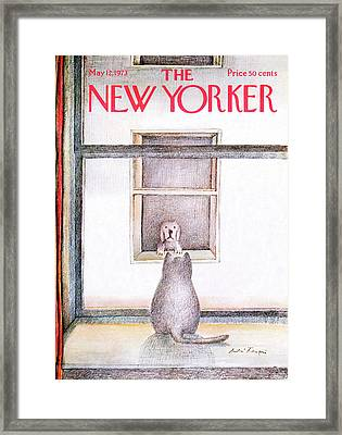 New Yorker May 12th, 1973 Framed Print