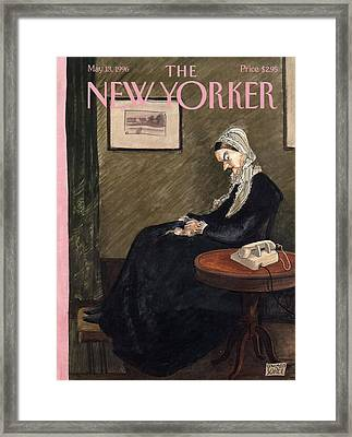 New Yorker May 13th, 1996 Framed Print