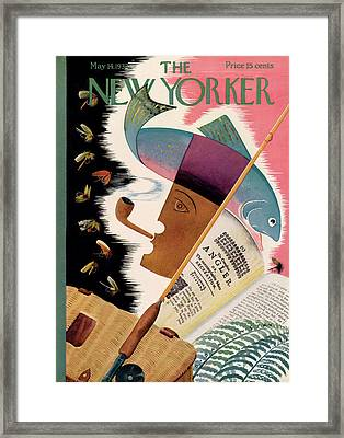 New Yorker May 14th, 1932 Framed Print by Bela Dankovszky