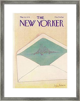 New Yorker May 14th, 1979 Framed Print by Eugene Mihaesco