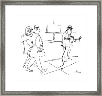 New Yorker May 15th, 1971 Framed Print by Frank Modell