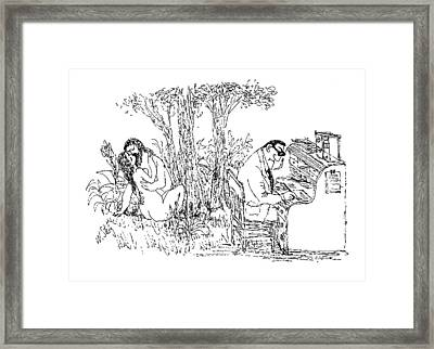 New Yorker May 15th, 1971 Framed Print by William Steig