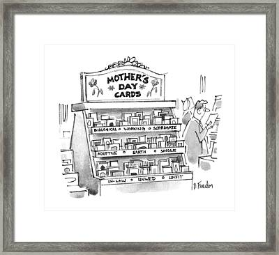 New Yorker May 15th, 1995 Framed Print