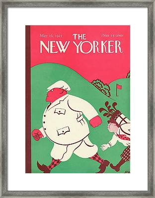 New Yorker May 16th, 1925 Framed Print by A.E. Wilson