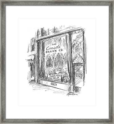 New Yorker May 16th, 1942 Framed Print by Alan Dunn