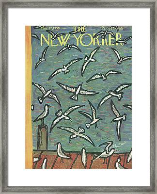 New Yorker May 17th, 1958 Framed Print