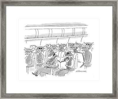 New Yorker May 17th, 1999 Framed Print