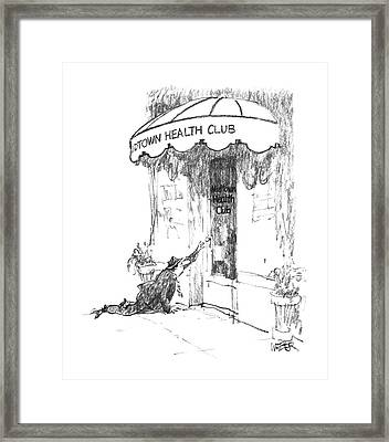 New Yorker May 18th, 1987 Framed Print by Robert Weber