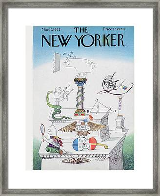 New Yorker May 19th, 1962 Framed Print