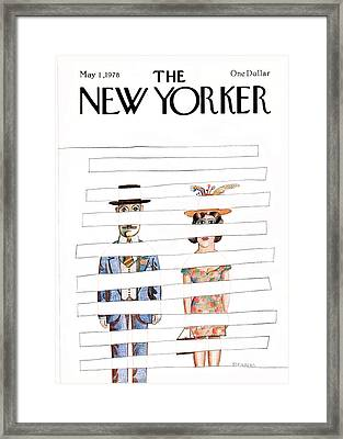 New Yorker May 1st, 1978 Framed Print