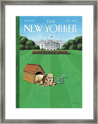 New Yorker May 1st, 2006 Framed Print