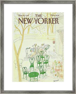 New Yorker May 20th, 1985 Framed Print by Jean-Jacques Sempe