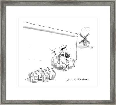 New Yorker May 20th, 1991 Framed Print by Bernard Schoenbaum