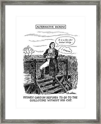 New Yorker May 20th, 1991 Framed Print by J.B. Handelsman