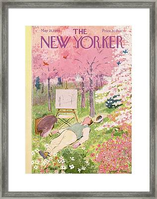 New Yorker May 21st, 1949 Framed Print