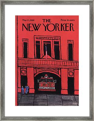 New Yorker May 21st, 1966 Framed Print