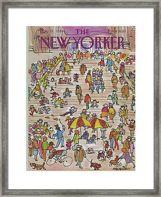 New Yorker May 21st, 1984 Framed Print