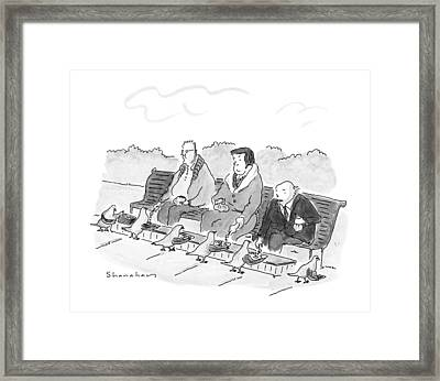 New Yorker May 21st, 1990 Framed Print by Danny Shanahan