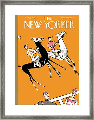 New Yorker May 22nd, 1926 Framed Print