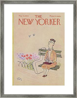 New Yorker May 23rd, 1964 Framed Print by William Steig