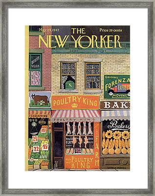 New Yorker May 24th, 1947 Framed Print by Witold Gordon