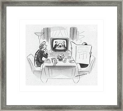 New Yorker May 24th, 1952 Framed Print by Leonard Dove