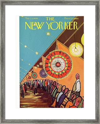 New Yorker May 24th, 1958 Framed Print