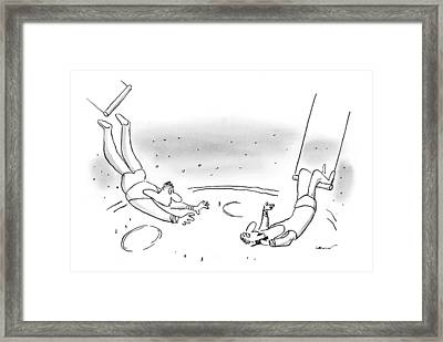 New Yorker May 24th, 1999 Framed Print by Arnie Levin