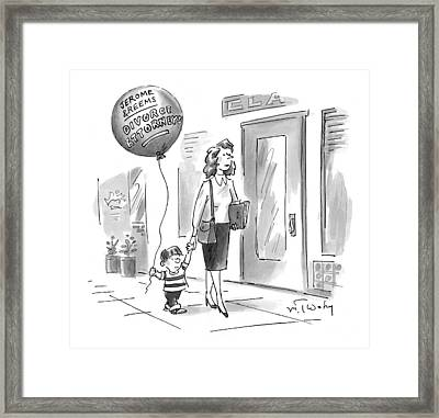 New Yorker May 24th, 1999 Framed Print by Mike Twohy