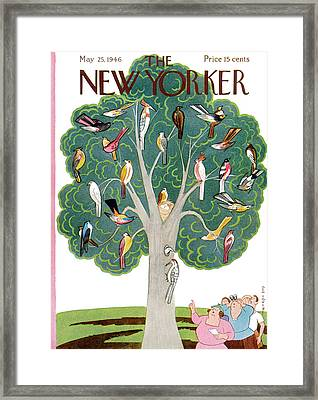 New Yorker May 25th, 1946 Framed Print by Rea Irvin