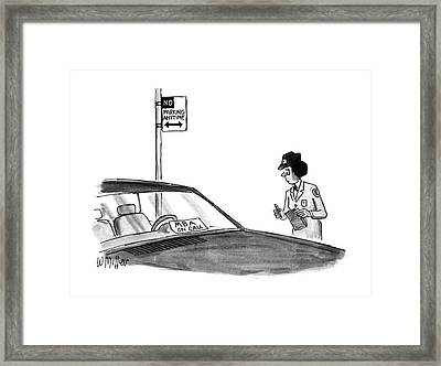 New Yorker May 25th, 1987 Framed Print by Warren Miller