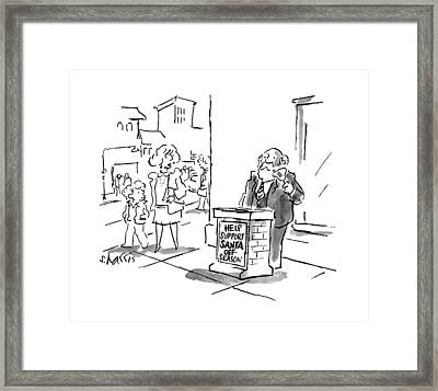 New Yorker May 25th, 1998 Framed Print by Sidney Harris